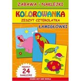Kolorowanka Zeszyt 4-latka. Łamigłówki