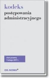 Kodeks postępowania administracyjnego st.pr. 02.2017