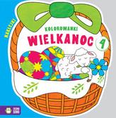 Kolorowanki Wielkanoc Koszyczek cz.4