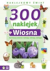Naklejkowy świat 300 naklejek Wiosna