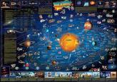 Układ Słoneczny. Mapa ścienna dla dzieci