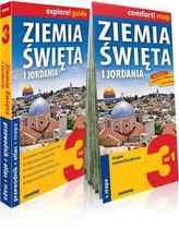 Ziemia Święta i Jordania explore! guide: 3w1: przewodnik + atlas + mapa