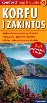 Mapa - Korfu i Zakintos. map&guide XL