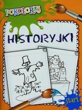 Historyjki Pokoloruj