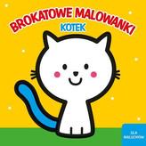 Brokatowe malowanki - Kotek