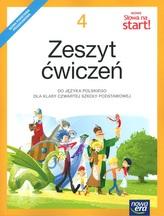 Nowe Słowa na start! Klasa 4, szkoła podstawowa. Język polski. Zeszyt ćwiczeń (2017)