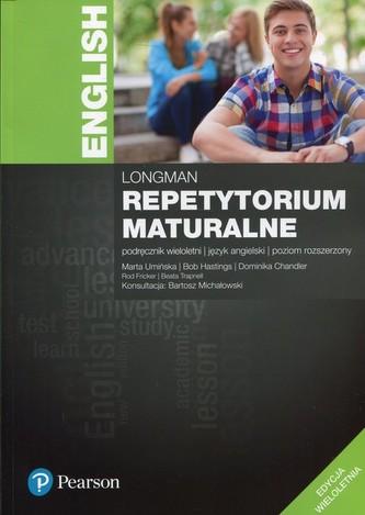 Longman Repetytorium maturalne. Język angielski. Podręcznik wieloletni. Poziom rozszerzony