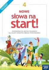 Nowe Słowa na start! Klasa 4, szkoła podstawowa. Język polski. Podręcznik (2017)