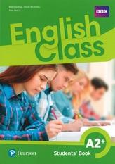 English Class A2+. Students` Book. Klasa 4-8, szkoła podstawowa. Język angielski. Podręcznik