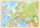 MAPA EUROPA POLITYCZNO FIZYCZNA PODKŁADKA NA BIURKO