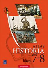 Atlas. Historia. Klasa  7-8. Szkoła podstawowa