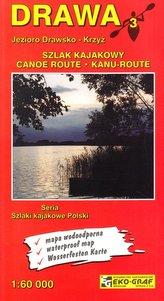 Drawa mapa kajakowa 1:60 000 Eko-Graf