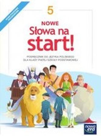 Nowe Słowa na start! Klasa 5. szkoła podstawowa. Język polski. Podręcznik (2018)