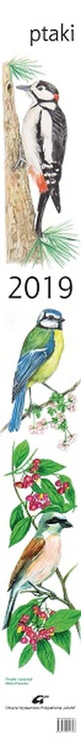 Kalendarz 2019 paskowy Ptaki