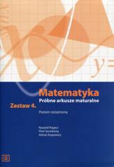 MATEMATYKA PRÓBNE ARKUSZE MATURALNE ZESTAW 4 POZIOM ROZSZERZONY MAMR4