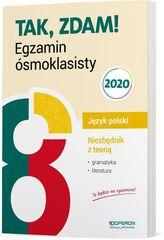 EGZAMIN ÓSMOKLASISTY 2020 JĘZYK POLSKI NIEZBĘDNIK Z TEORIĄ