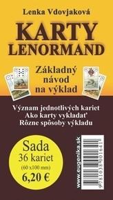 Karty - Lenormand (karty + brožúrka)