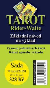 Karty - Tarot Rider Waite (kartyMINI + brožura)