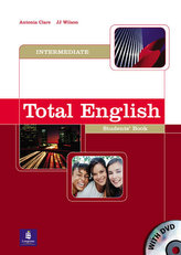 Total English Intermediate Students´ Book and DVD Pack