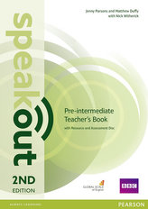 Speakout Pre-Intermediate 2nd Edition Teacher´s Guide with Resource & Assessment Disc Pack