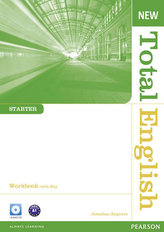 New Total English Starter Workbook with Key and Audio CD Pack