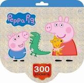 Peppa - Holografický blok samolepek