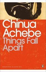 Things Fall Apart. Alles zerfällt, englische Ausgabe. Okonkwo oder das Alte stürzt, englische Ausgabe