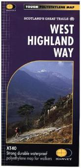 West Highland Way, Map