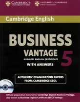 Cambridge BEC, Vantage 5, Student's Book with answers and 2 Audio CDs