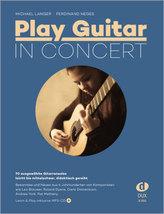 Play Guitar - In Concert, m. Audio-CD