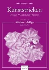 Kunststricken - Decken, Garnituren, Spitzen