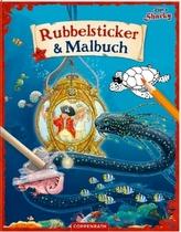 Käpt'n Sharky - Rubbelsticker & Malbuch