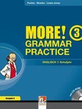 MORE! Grammar Practice 3, Ausgabe Deutschland und Schweiz, mit 1 CD-ROM