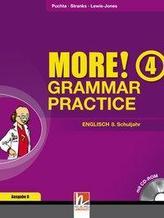 MORE! Grammar Practice 4, Ausgabe Deutschland und Schweiz, mit 1 CD-ROM